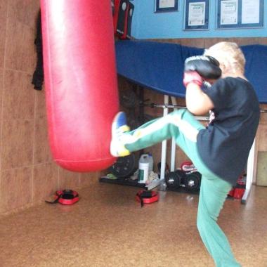 Boks -Trening personalny uroczego 6-letniego Hubercika_12