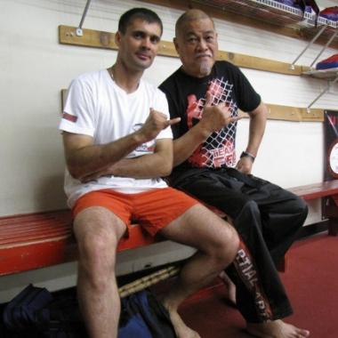 Tomasz Boral Trener Personalny i Richard Bustillo