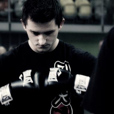 Trening personalny muay thai Częstochowa z udziałem Mariusza_1