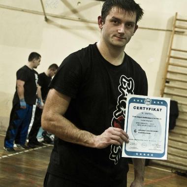 Trening personalny muay thai Częstochowa z udziałem Mariusza_4
