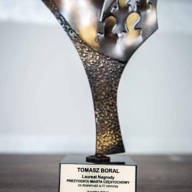 Nagroda Prezydenta Miasta Częstochowy dla Tomasza Boralaa_2