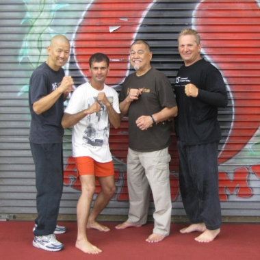 Tomasz Boral Trener Personalny i Benny Urquidez