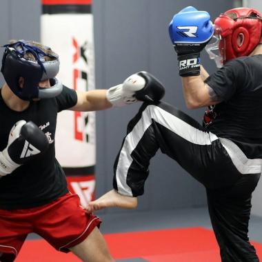 Trening do następnego egzaminu na stopnie kickboxingu! 2020
