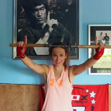 Trening personalny Martyny w Backfist Team Częstochowa_11
