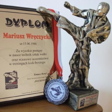 Trening personalny muay thai Częstochowa z udziałem Mariusza_3