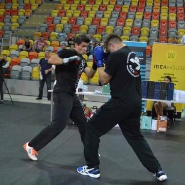 Trening personalny muay thai Kacpra
