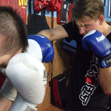 Trening personalny muay thai Kacpra_9