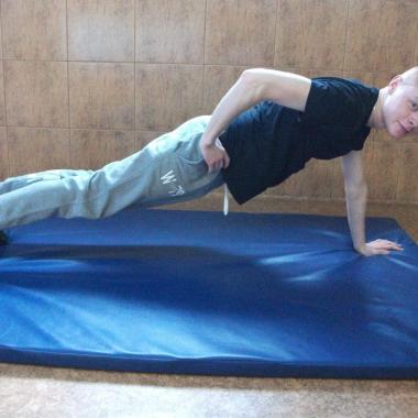 Trening siłowo-wytrzymałościowy Mateusza